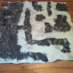 Spirit Of the Bush Series # 1  Side B-  Merino&Alpaca 160cmx160 cm